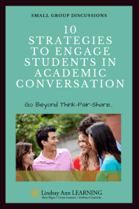 ELA Teaching Strategies for Paired and Small Group Discussions