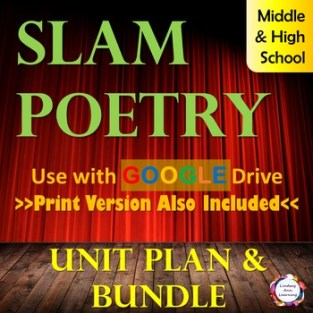 Slam Poetry Makes a Great Holiday Activity!