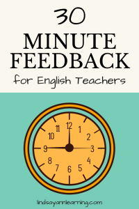 30 minute grading hack for english teachers write a feedback letter english teachers save time with feedback letters expocarfo Image collections