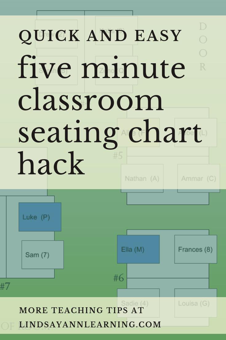 classroom seating chart hacks lindsay ann learning educational blog