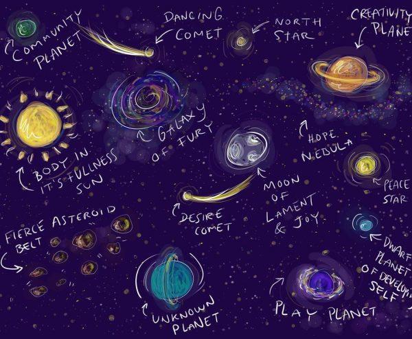 Galaxy by Kate Creech
