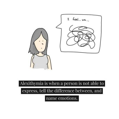 Most of us learn early- before we even learn language- how to express and tell the difference between emotions. Babies learn this when they see their emotion amplified on the face of an attuned mom/dad/caregiver. #Alexithymia can have a number of causes, but commonly it's a result of a caregiver being unable to be with their child in this way due to absence (physical or psychological- such as post partum depression), trauma, or their own difficulty understanding their own emotions.#Psychodynamic therapy addresses alexithymia by offering to clients the attunement and mirroring of emotion that might have been missing in earlier relationships. Over time, it can help people develop a wider emotional range and richer life experiences.#attachmentparenting #therapy #psychotherapy #emotionless #allthefeels