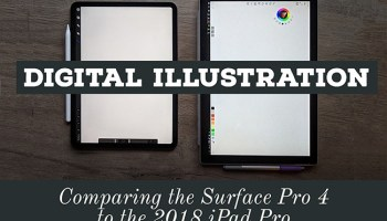 4 Tips for Digital Drawing and Illustration on a Surface Pro