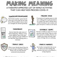 Kids and COVID-19: 6 Activities Supporting Meaning Making and Resiliency