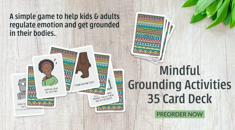 grounding activity card deck