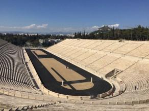 The first modern Olympic stadium