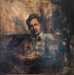"Étude / Oil / 30 x 30"""