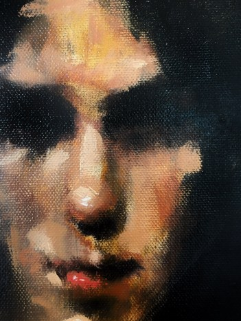"""Detail from """"The Medium / Oil"""