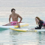 Lindsay Lohan On the beach in Mauritius-www-lindsaylohan-us