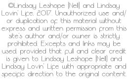Lindsay Lovin Life Copyright