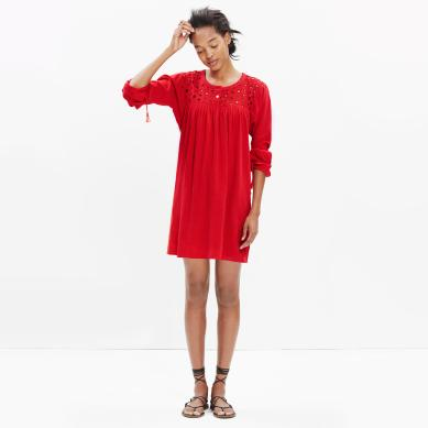 6 - red Madewell