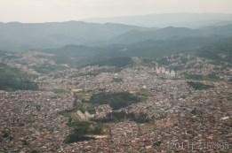Leaving São Paulo. Such an enormous city