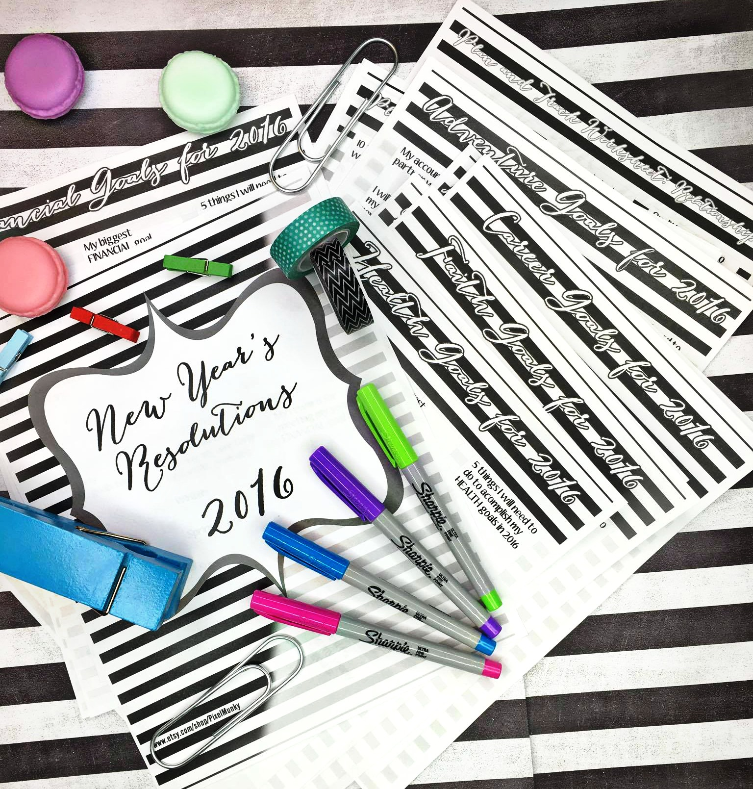 Planners!! Let\u0027s Make Our New Year\u0027s Resolutions Together ...