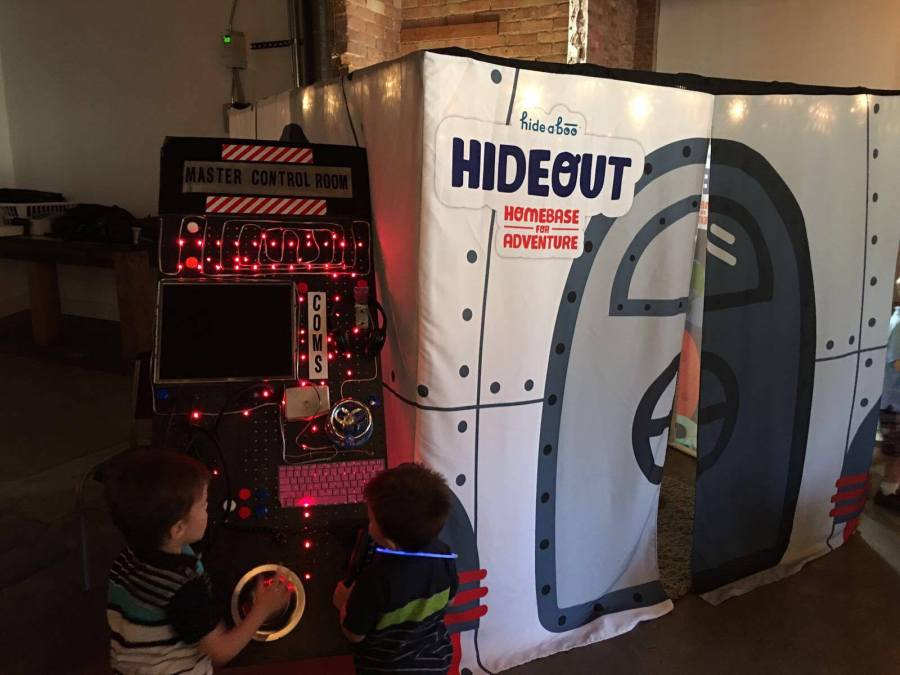hideaboo kickstarter launch party