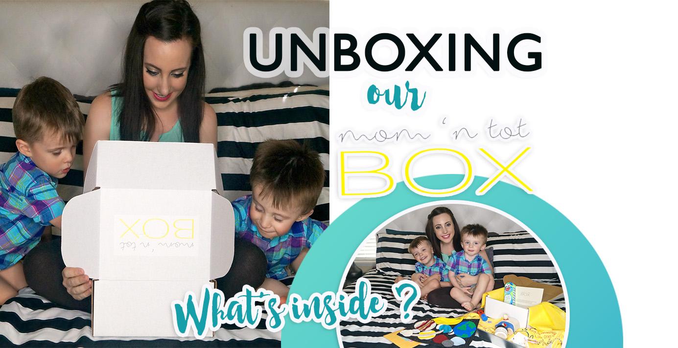 What's Inside Our Mom 'N Tot Sibling Box?