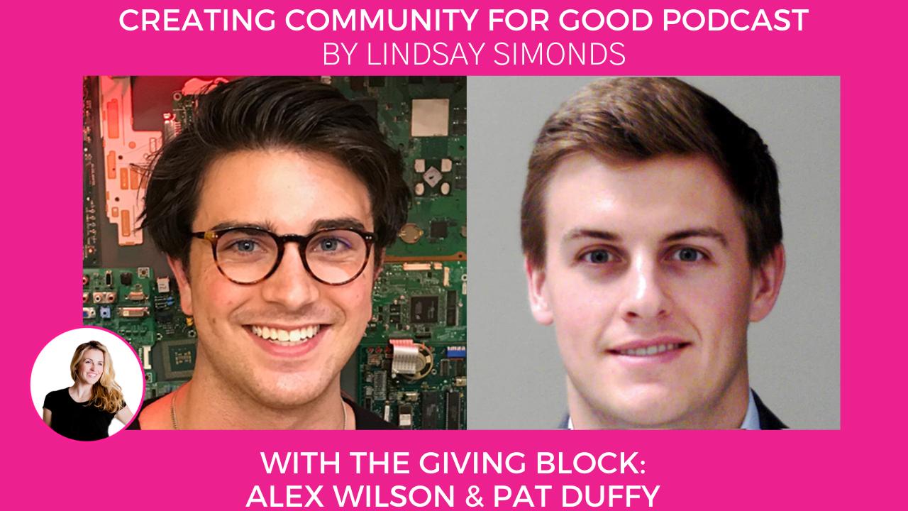 The Giving Block & Lindsay Simonds