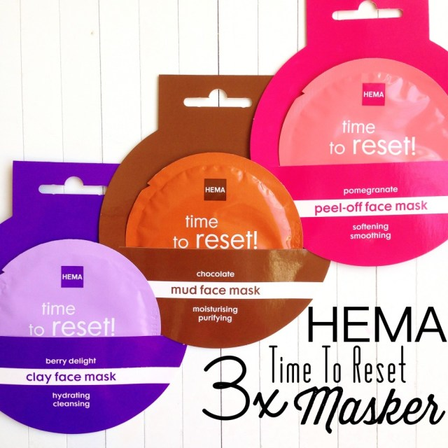 HEMA Time To Reset Masker