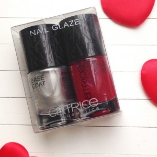 Catrice Alluring Red Nail Glaze