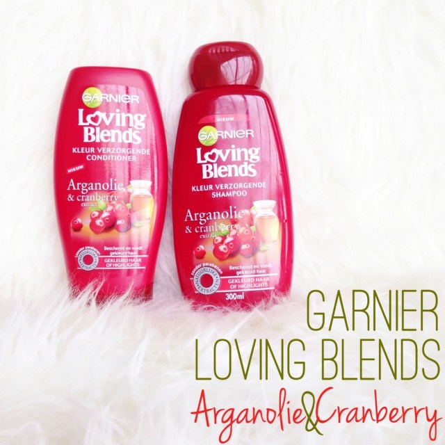 Garnier Loving Blends Arganolie en Cranberry