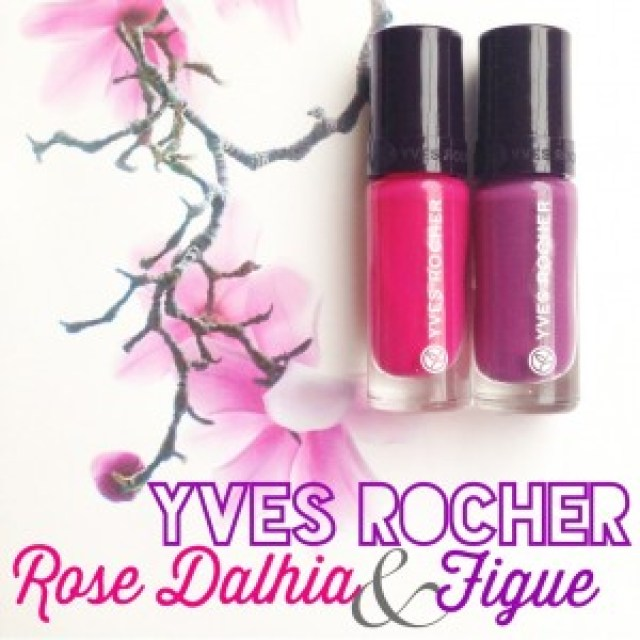 Yves Rocher Nagellak Rose Dalhia en Figue