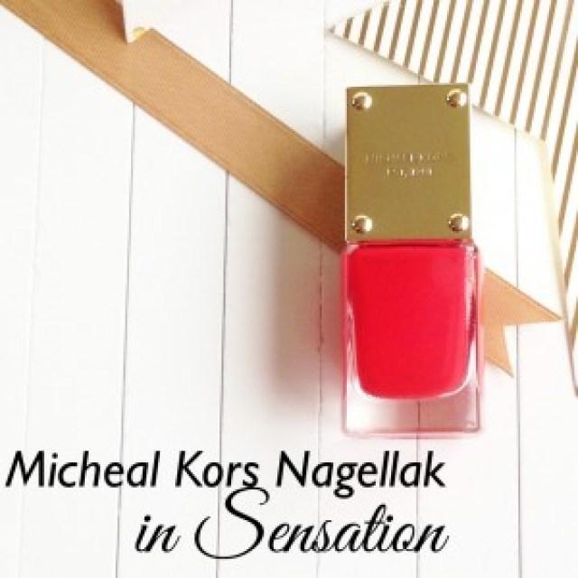 Michael Kors Nagellak in Sensation
