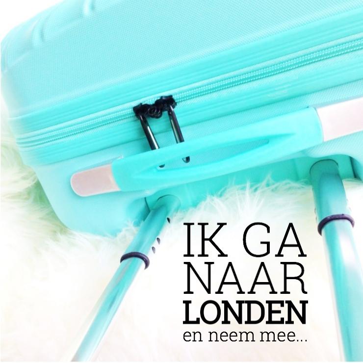 Ik ga naar Londen en neem mee