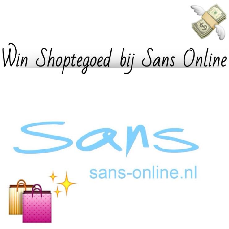 Win Shoptegoed bij Sans Online