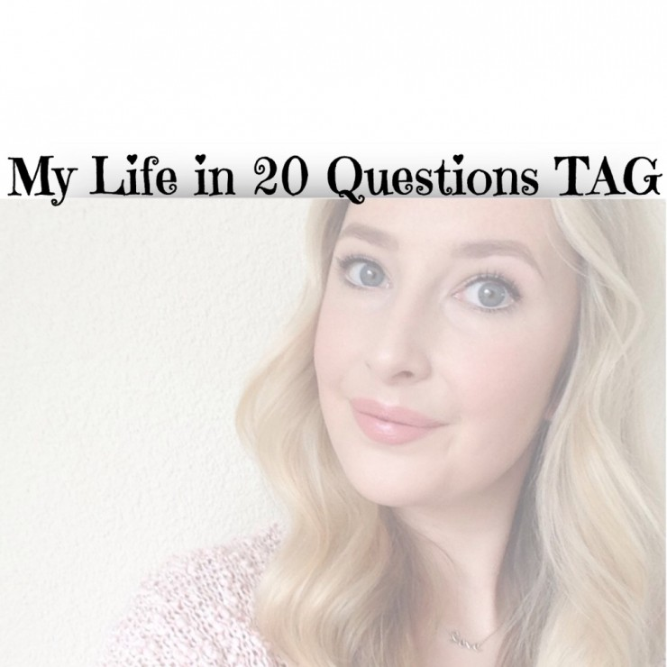 My Life In 20 Questions TAG