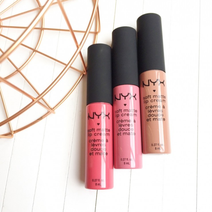 NYX Soft Matte Lip Creams