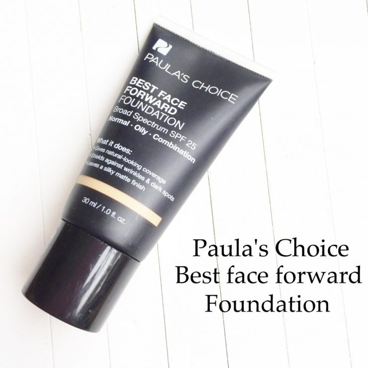Paula's Choice Best Face Forward Foundation