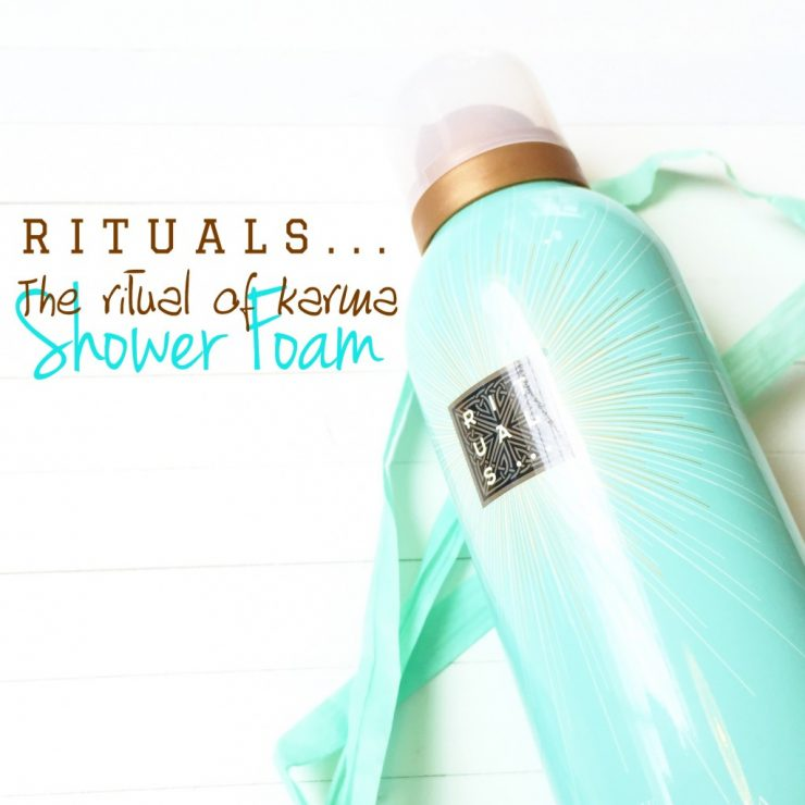 The Ritual of Karma Shower Foam