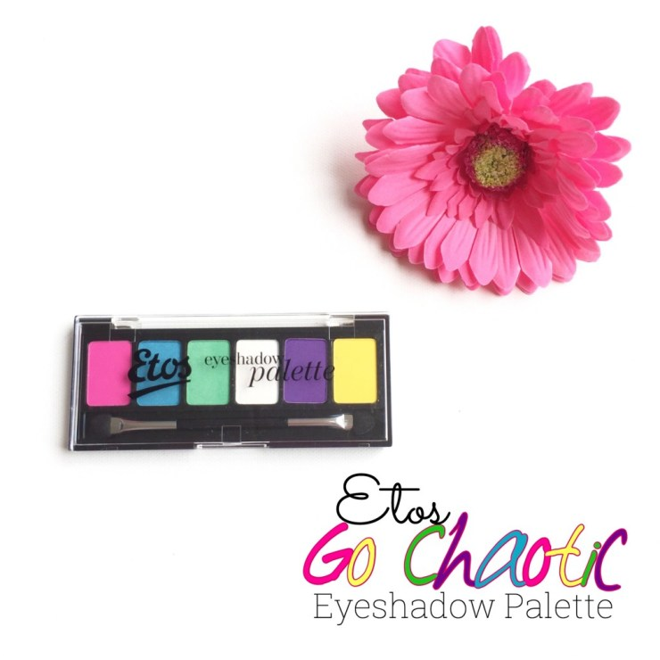 Etos Go Chaotic Eyeshadow Palette