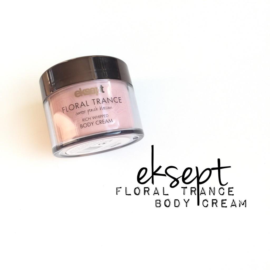Eksept Floral Trance Body Cream