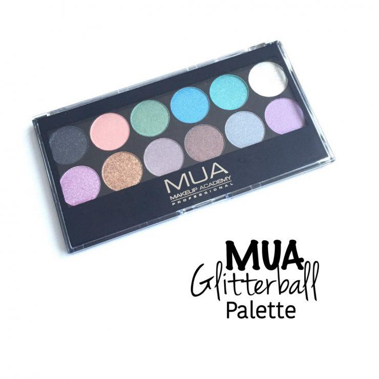 MUA Glitterball Palette