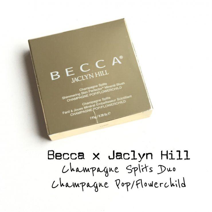 Becca x Jaclyn Hill Champagne Splits Duo Champagne Pop/Flowerchild