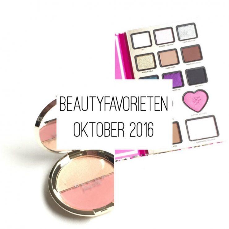 Beautyfavorieten Oktober 2016