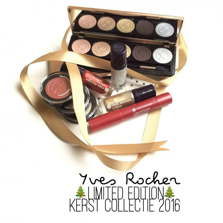 Yves Rocher Limited Edition Kerst Collectie 2016