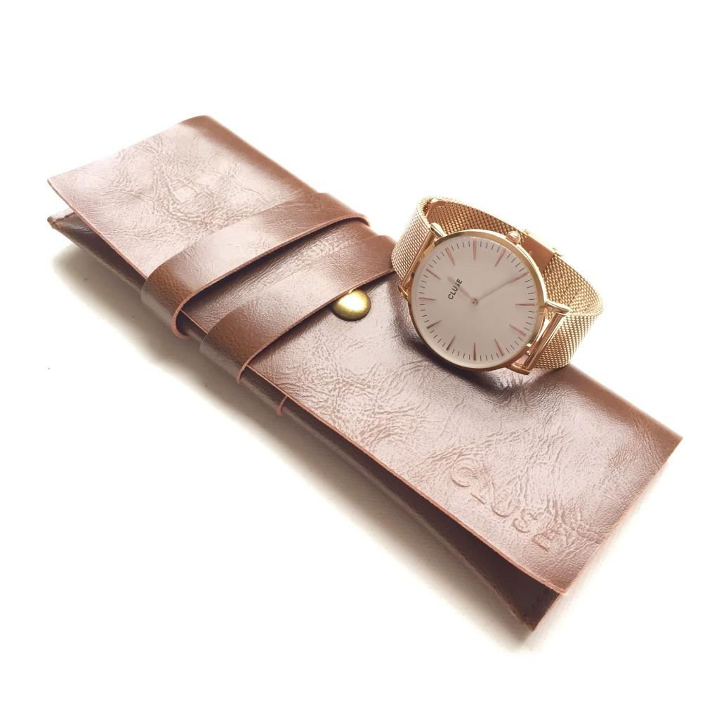 Cluse La Bohème Mesh Rose Gold Horloge