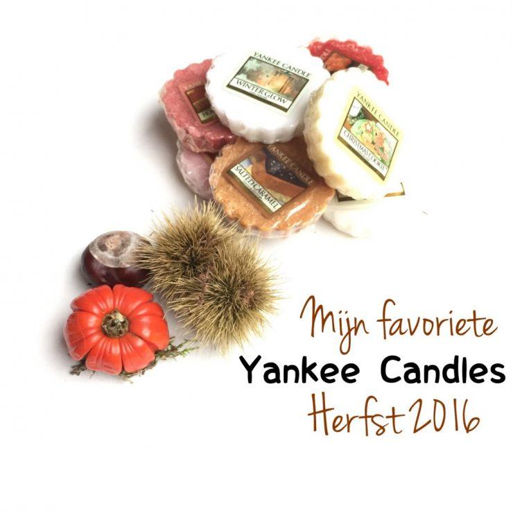 Mijn favoriete Yankee Candles Herfst 2016