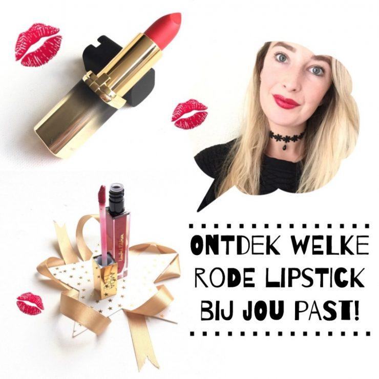 Ontdek welke rode lipstick bij jou past!