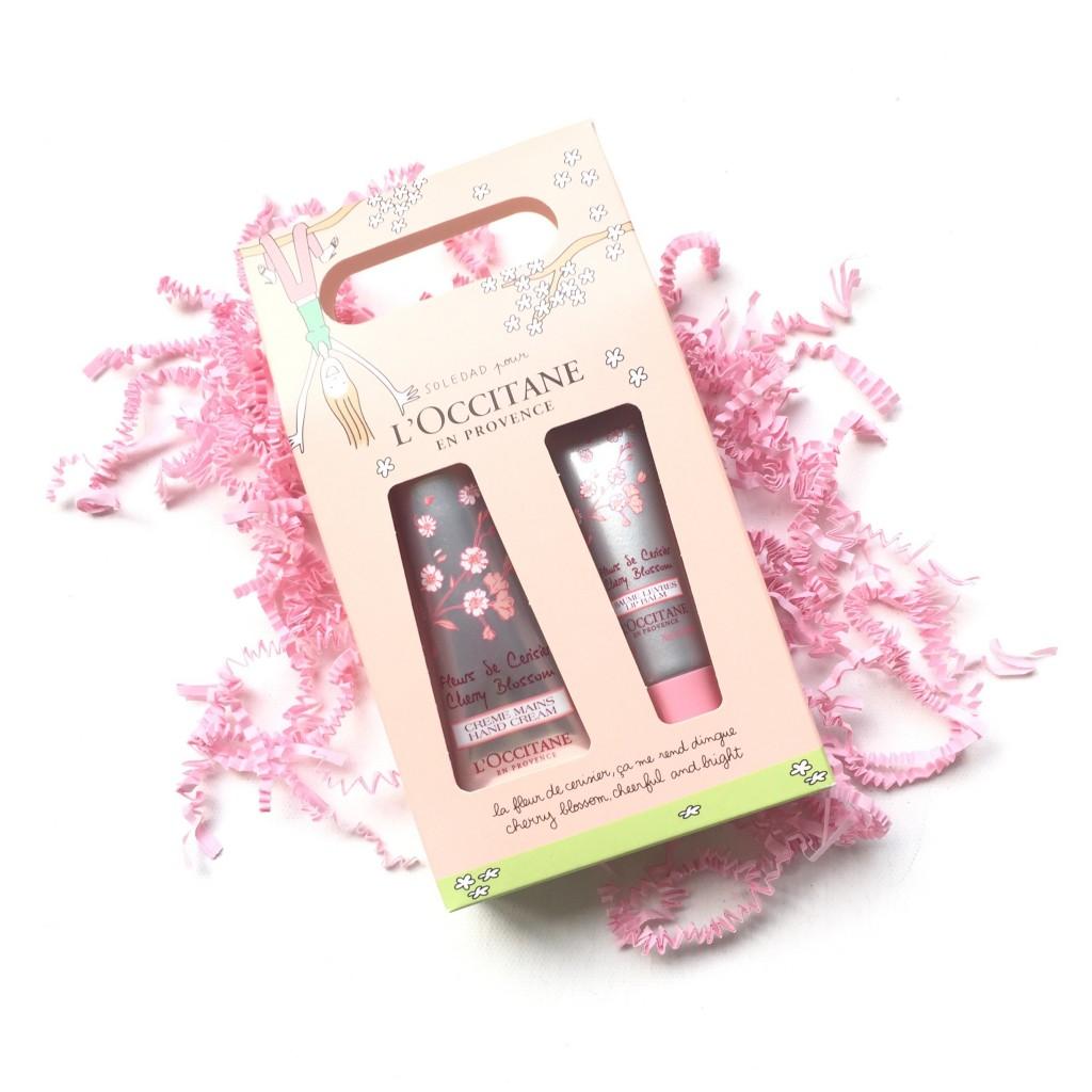L'Occitane Cherry Blossom Hands & Lips Duo