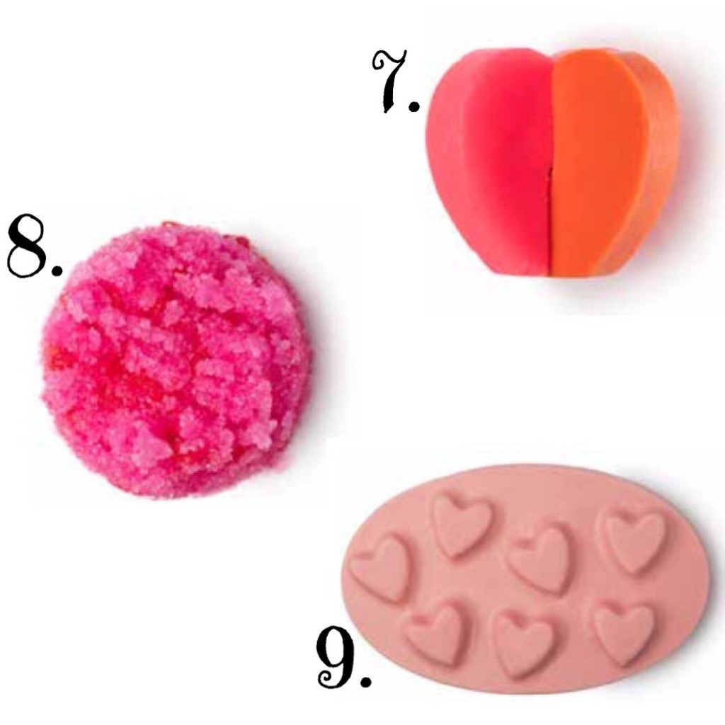 De Valentijn Collectie van LUSH