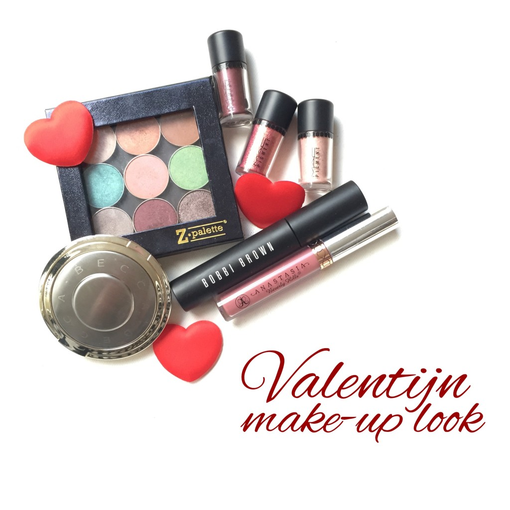 Valentijn Make-Up Look