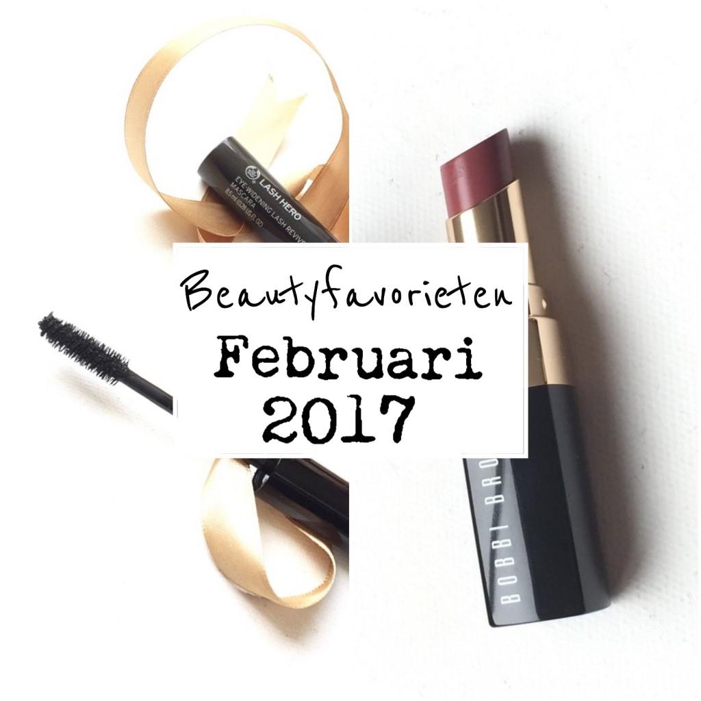 Beautyfavorieten Februari 2017