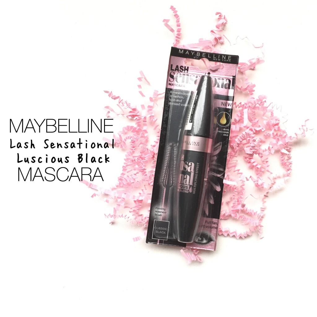 Maybelline Lash Sensational Luscious Black Mascara