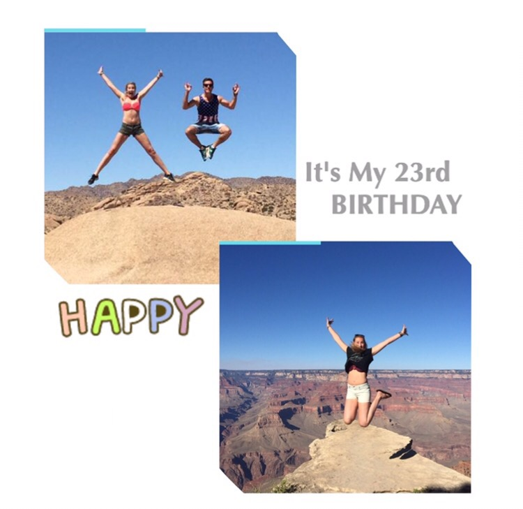 It's my 23rd Birthday!