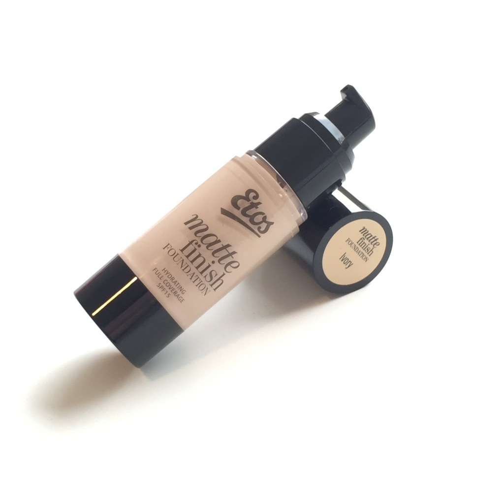 Etos Matte Finish Foundation in Ivory