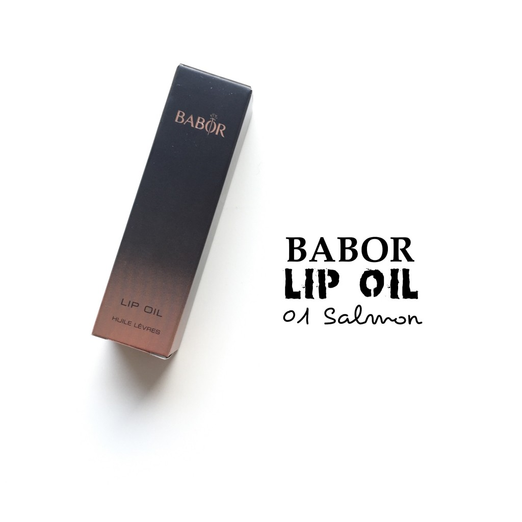 Babor Lip Oil 01 Salmon