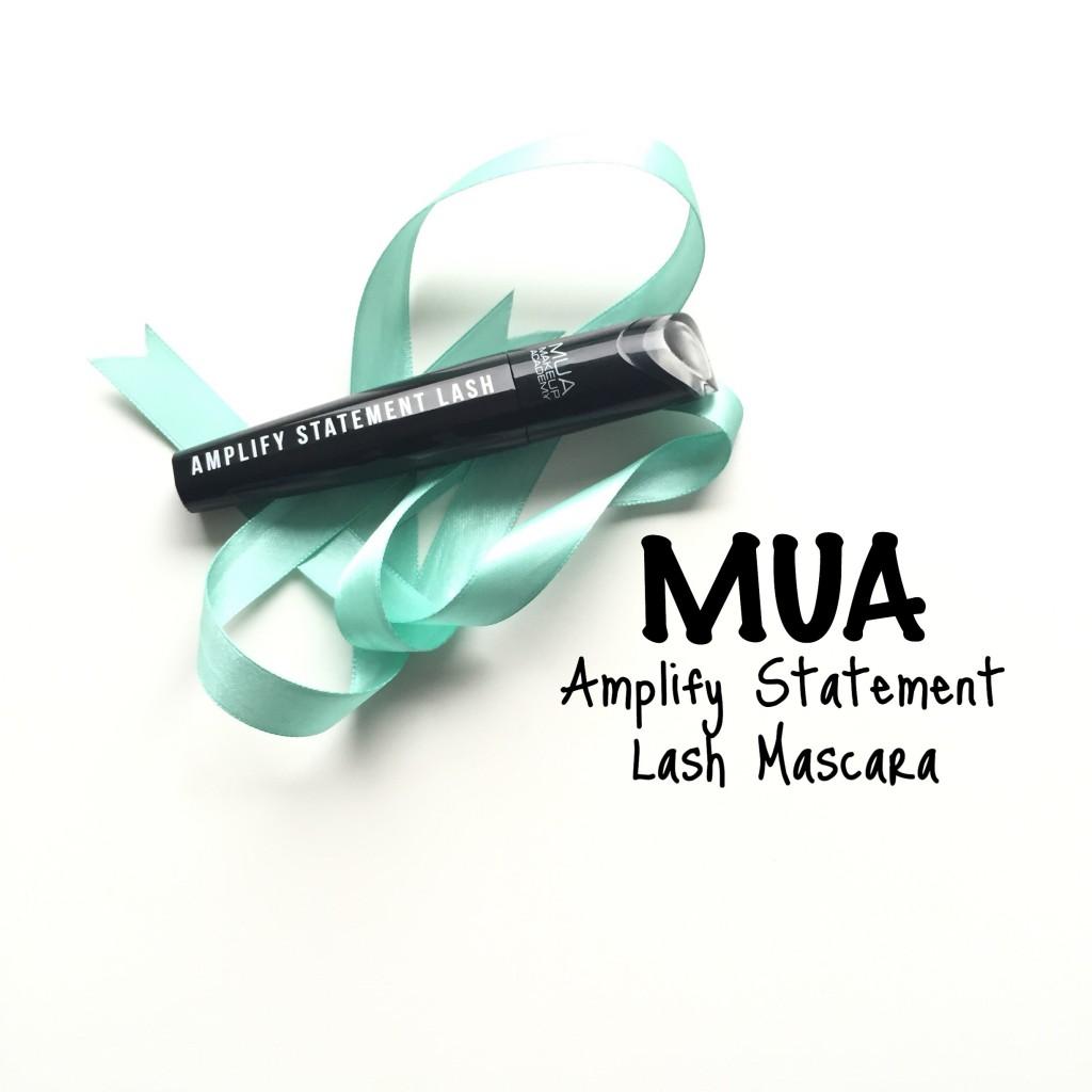 MUA Amplify Statement Lash Mascara