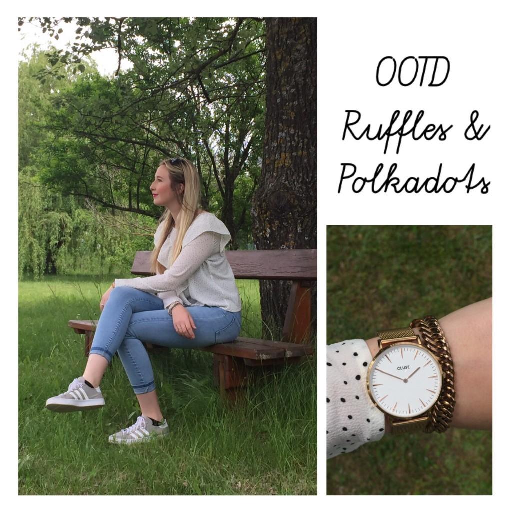OOTD Ruffles & Polkadots